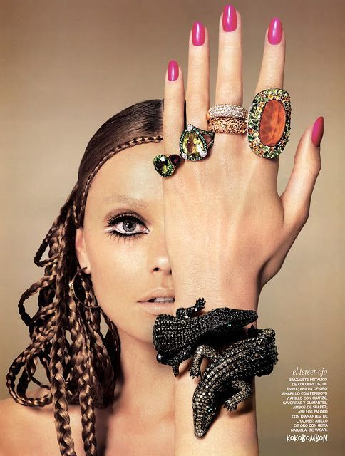 "Photo of Editorial fashion | ""Techinicolor"" Vogue Spain – December 2007 – Editorial Fashion 
