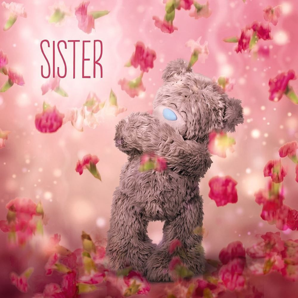 Me to you happy birthday sister bear flowers card tatty teddy flowers for my sister quotes me to you happy birthday sister bear flowers card tatty teddy izmirmasajfo