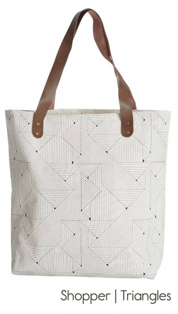 Fashionable shopper or shopping bag from House Doctor, use it as a ...