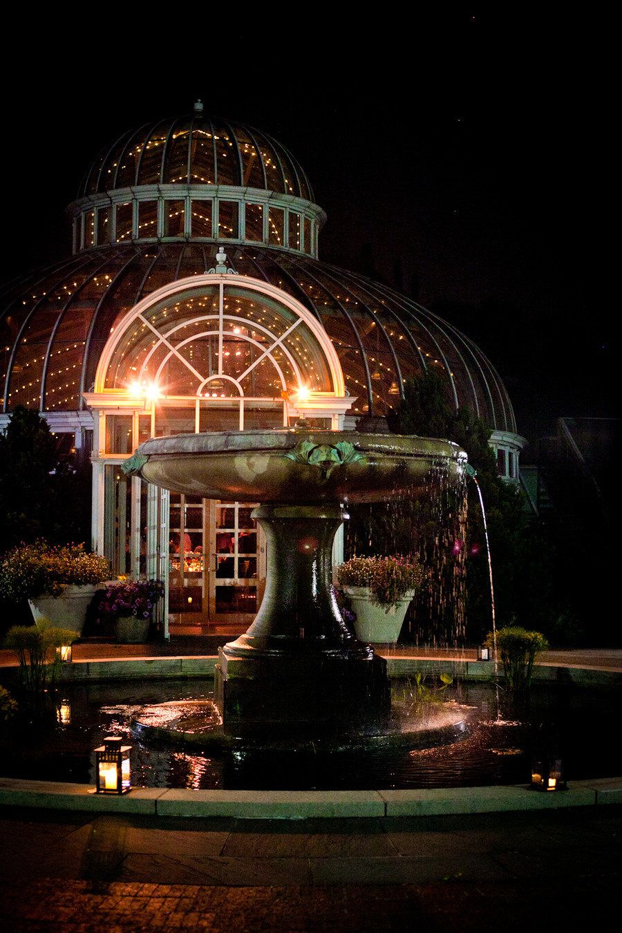 Brooklyn Botanic Garden Wedding at the Palm House from