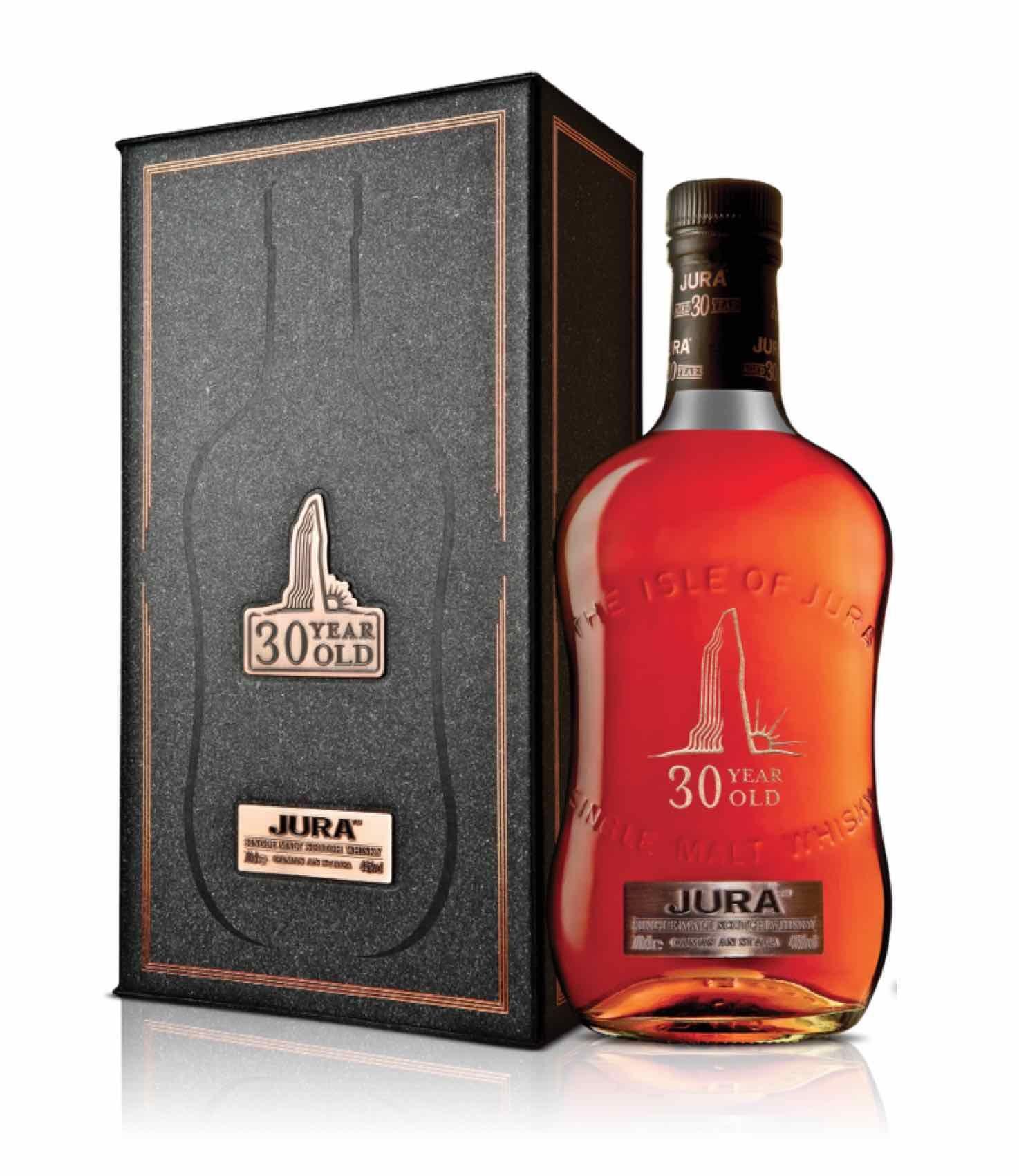 Jura 30 Year Single Malt Whisky Jura Whisky Cigars And Whiskey