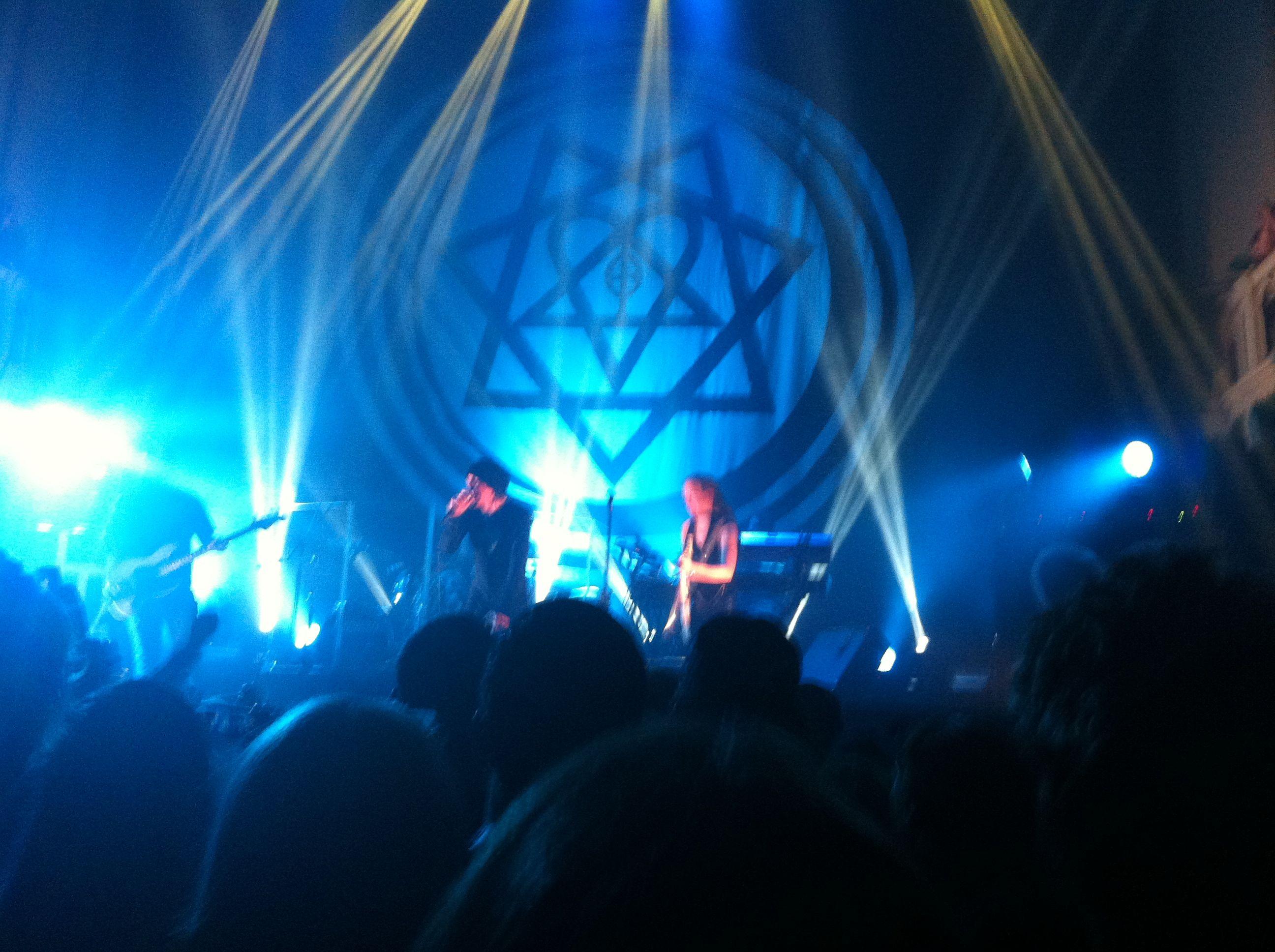 HIM @ Paradiso, Amsterdam 10-9-2013