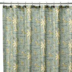 Tommy Bahama Island Song 72 X 72 Fabric Shower Curtain Bed