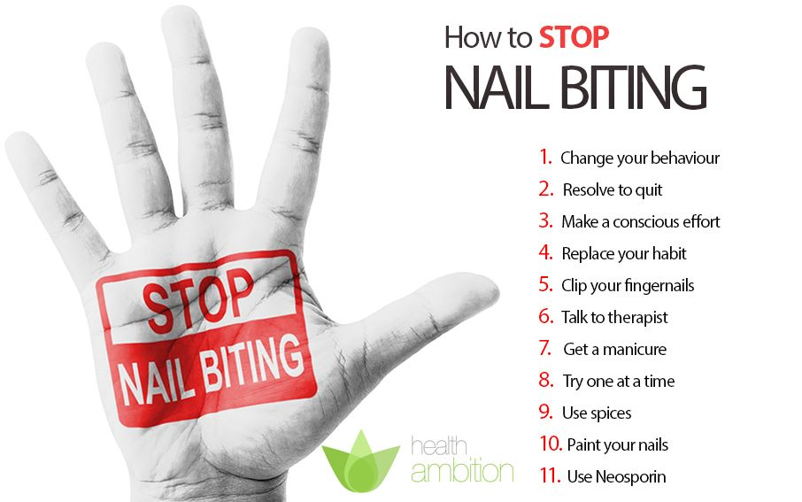 Learn How To Stop Biting Your Nails The Easy Way You
