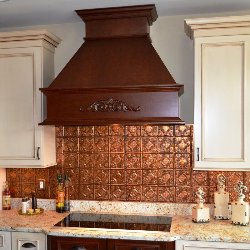 24 x 24 metal wall paneling copper