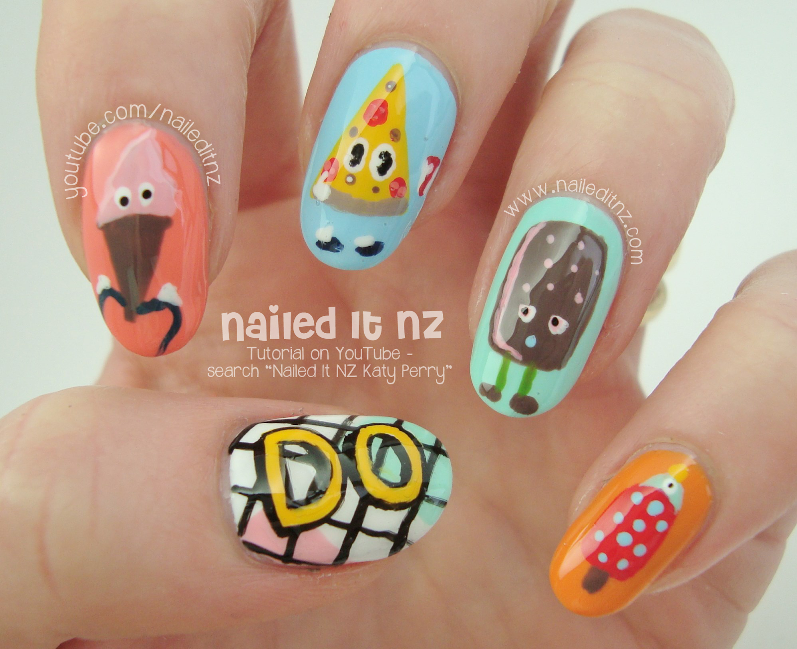 Katy Perry Nail Art Tutorial Inspired By This Is How We Do