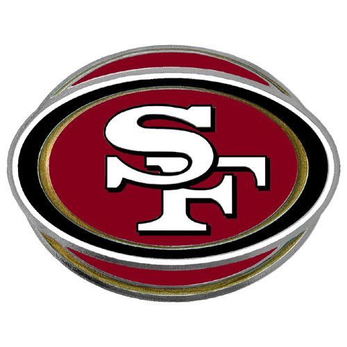 San Francisco 49ers Hitch Cover Class III Wire Plugs
