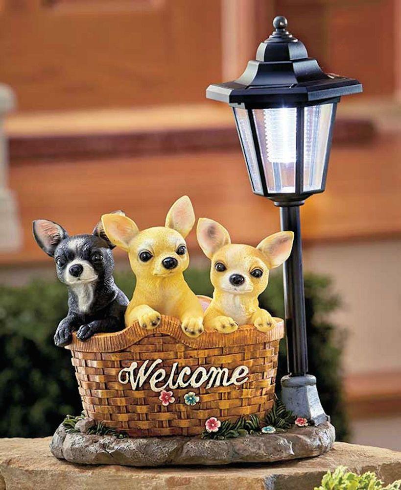 Solar Dog Breed Lanterns