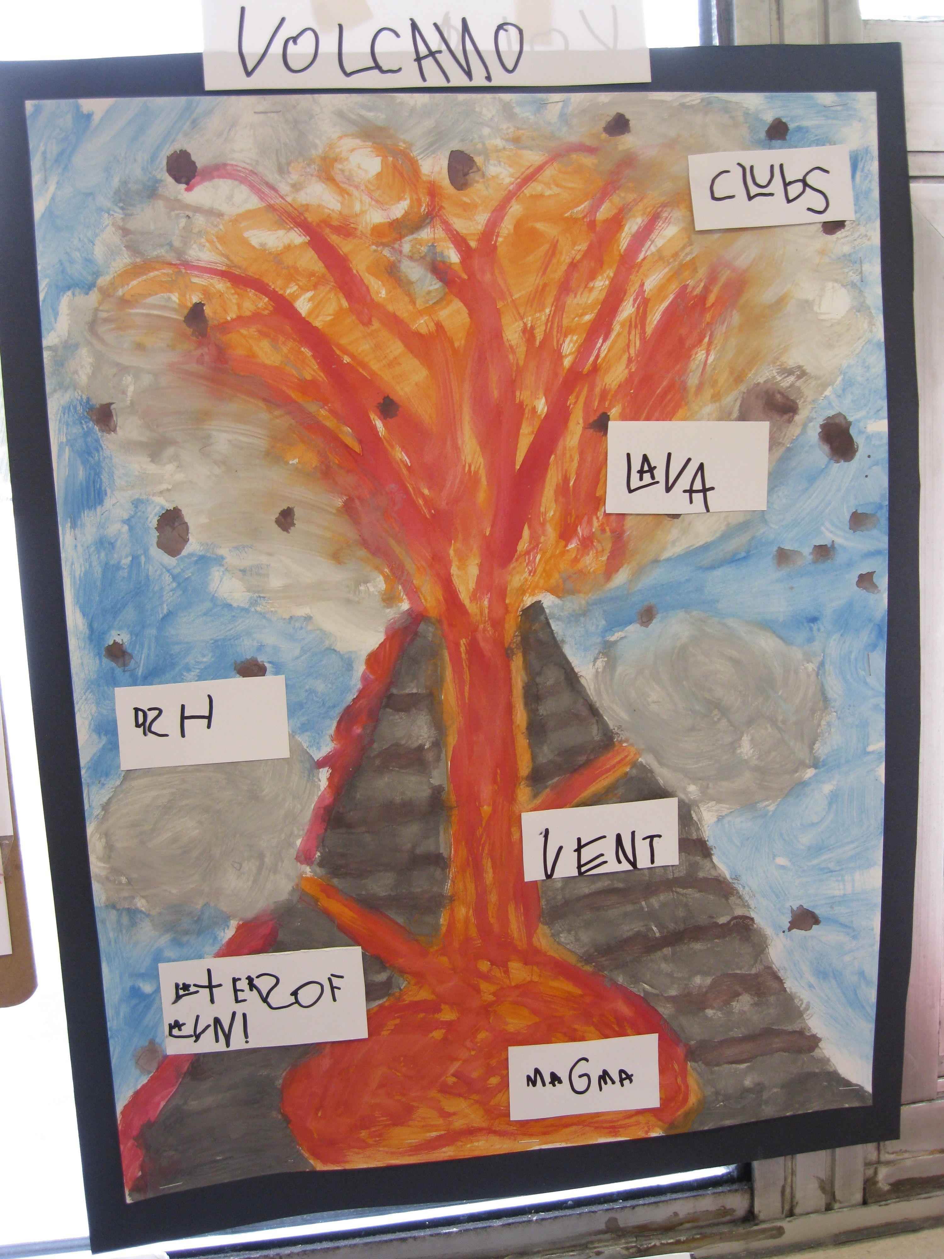 volcanoes for preschoolers volcano inquiry our fdk classroom volcano 488