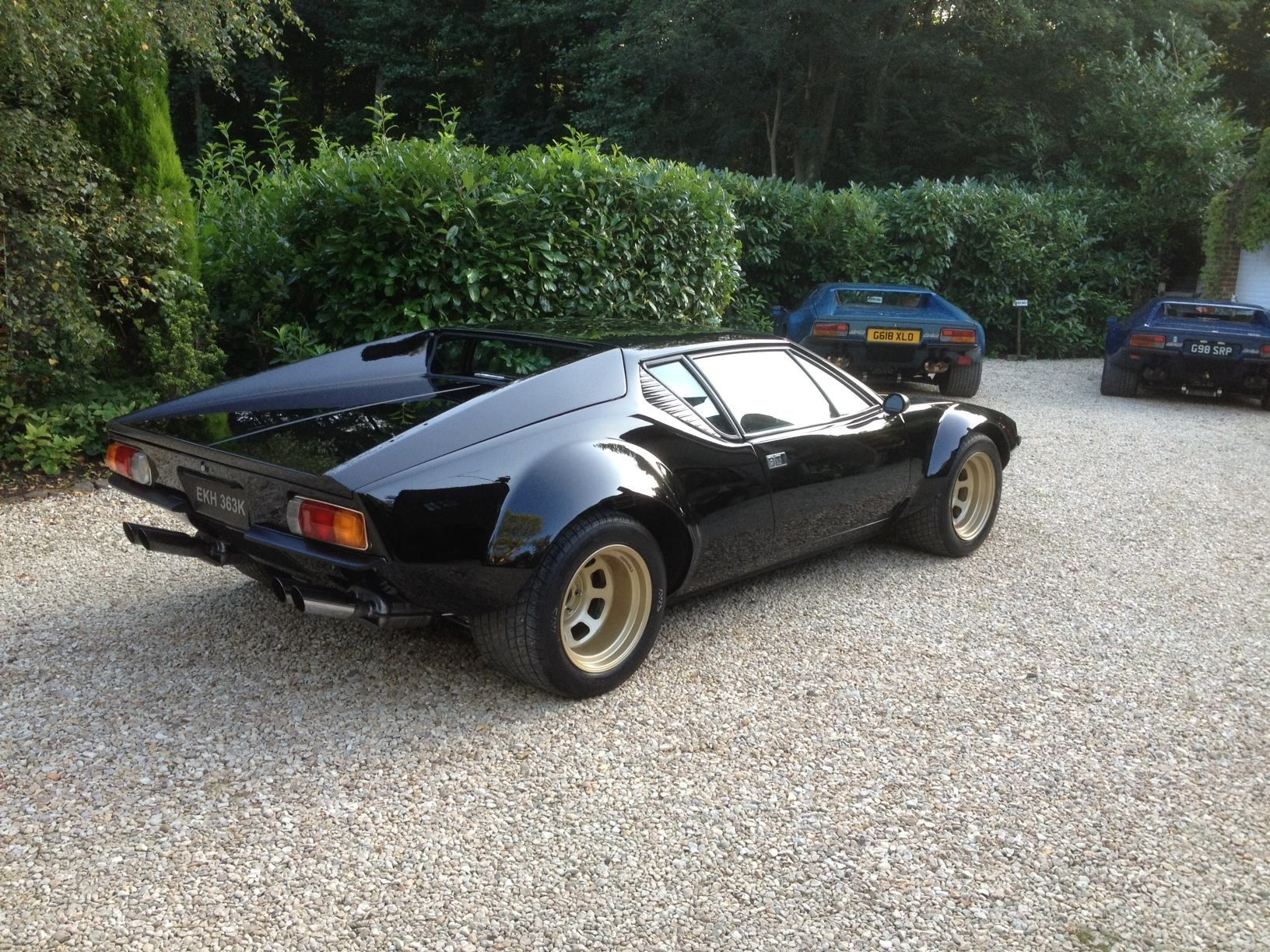 Bassett wheels on Group 4 DeTomaso Pinterest