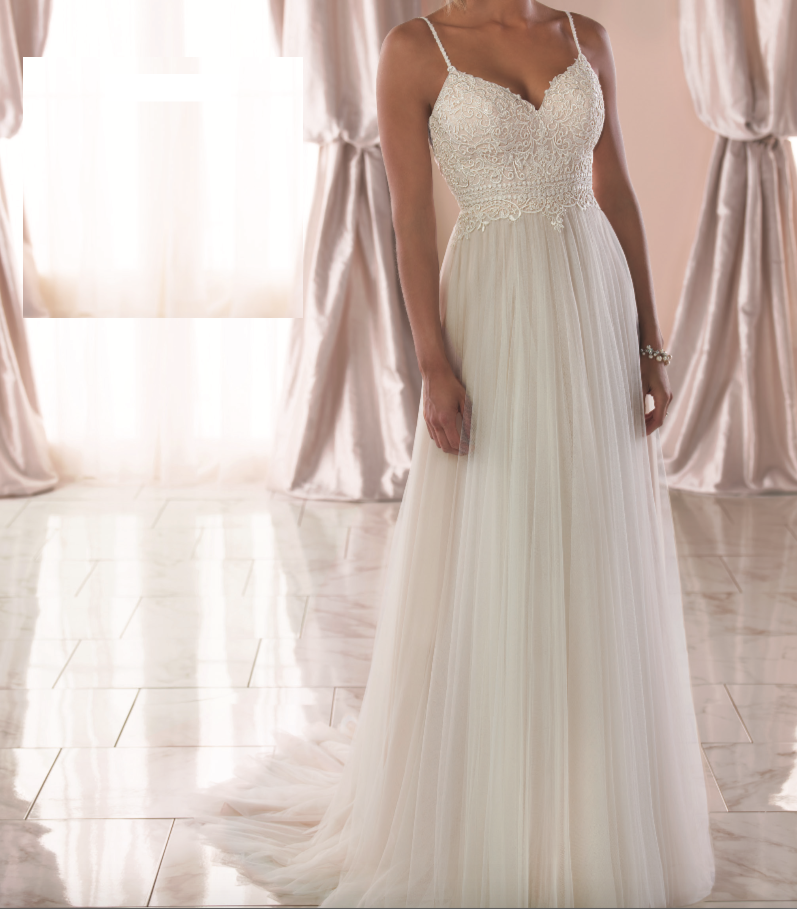 6788 By Stella York Wedding Dresses Strapless Wedding Dress