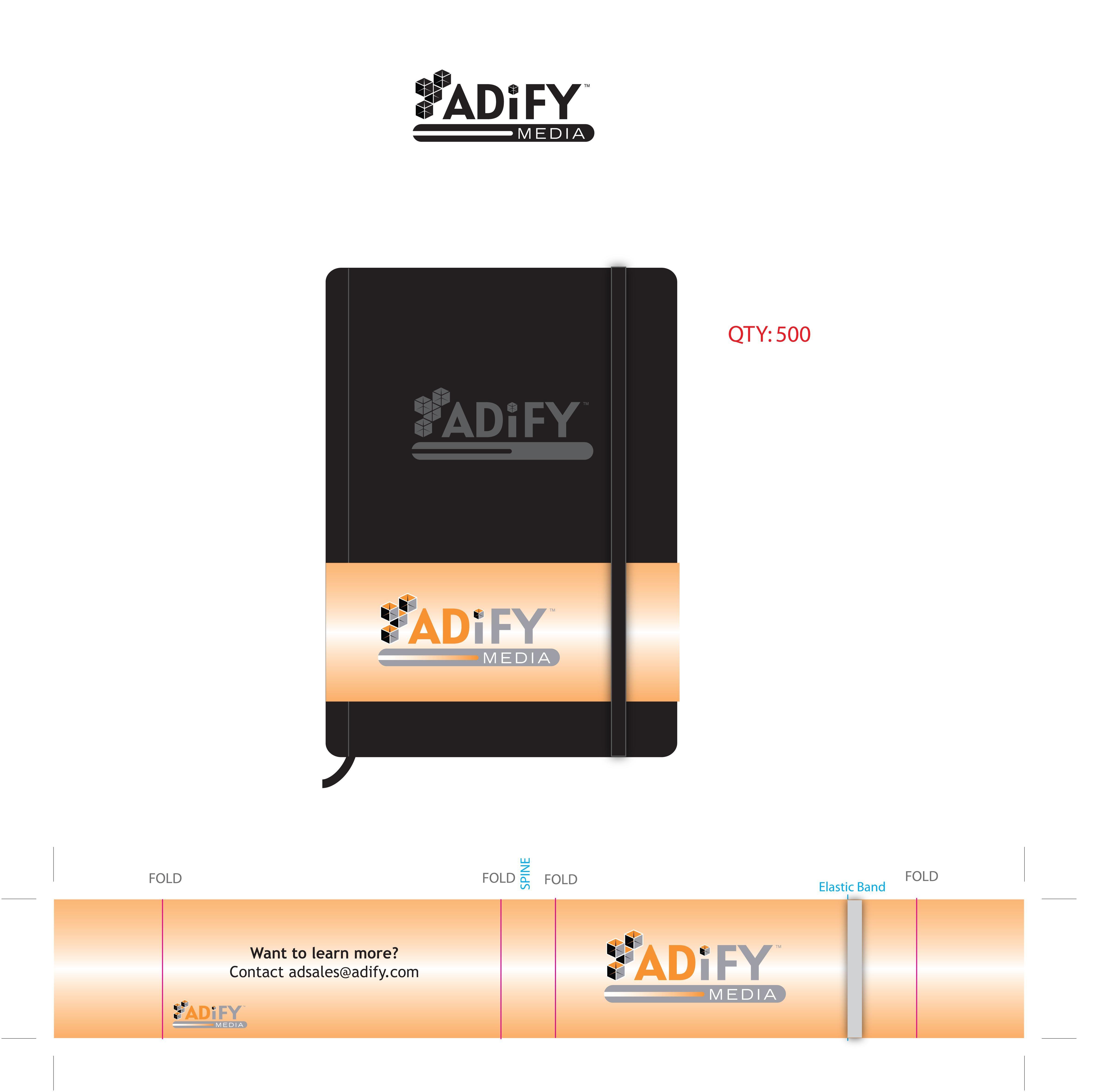 Adify Media Notebook