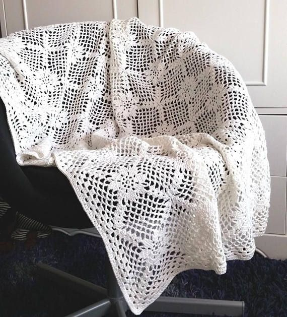 Crochet blanket pattern, \