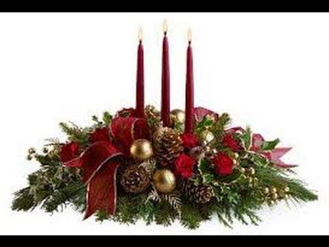 Adorno navide o para la puerta de casa diy christmas for Centros navidenos