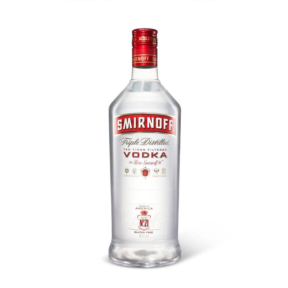 Smirnoff Vodka - 1 75L Plastic Bottle in 2019 | Products