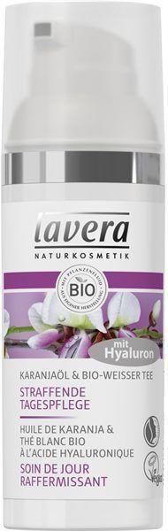 Lavera Karanjaöl Weißer Bio Tee Straffende Tagespflege