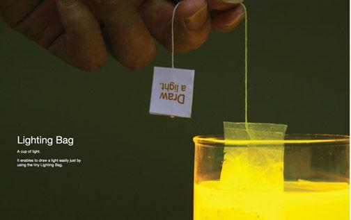 Tea Bag Lighting Concept is Absolutely Tea-lightful