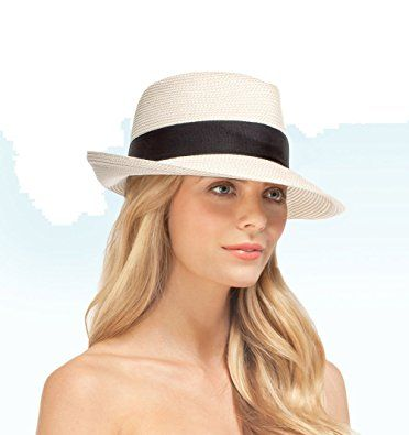 59de2085c51d7 Eric Javits Squishee Classic in Cream Black Review