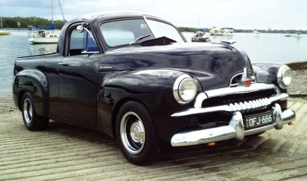 Restored Holden 1953 FJ Ute Classic cars trucks