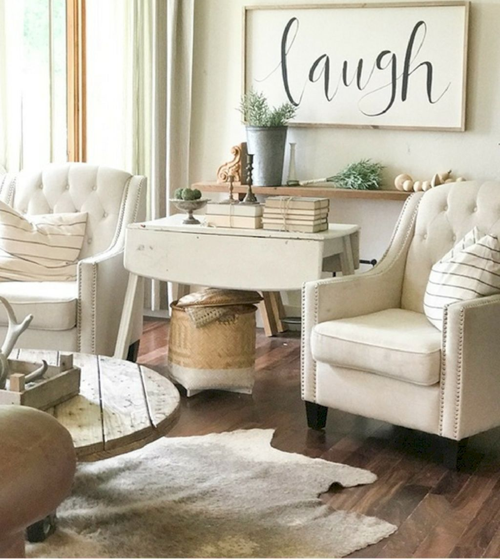 Awesome rustic farmhouse living room decor ideas https bellezaroom also rh pinterest