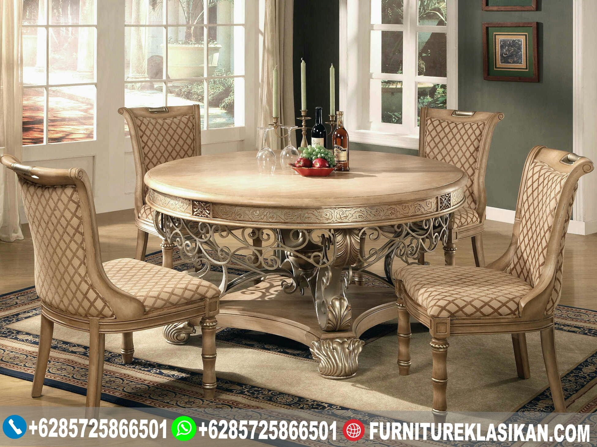 32+ Luxury round dining table and chairs Tips