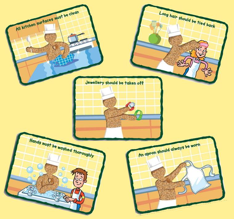 Food Hygiene Clipart | Clip art, Free clip art, Hygiene