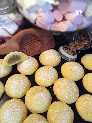 Les recettes d'Emilie: Maamouls aux noix
