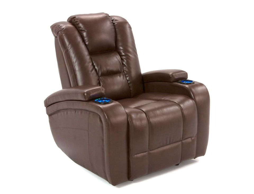 Man Cave Recliner Chairs : The stark has all bells and whistles power motion