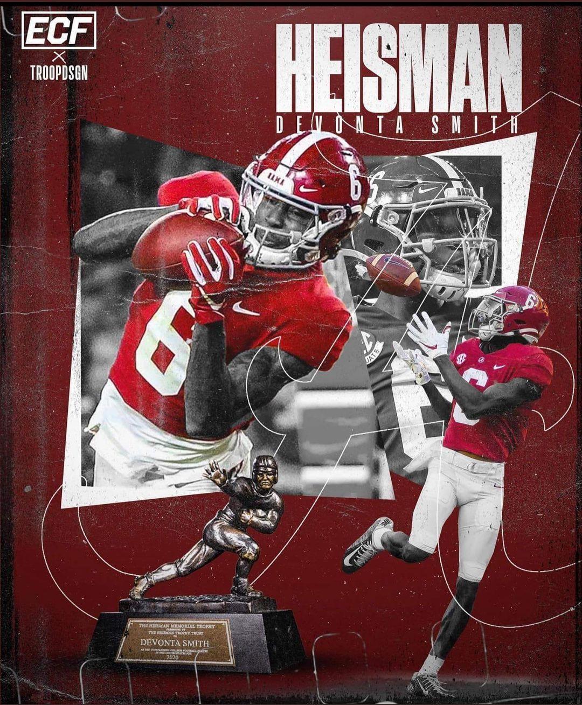 Devonta Smith Alabama In 2021 Alabama Crimson Tide Football Crimson Tide Football Alabama Crimson Tide