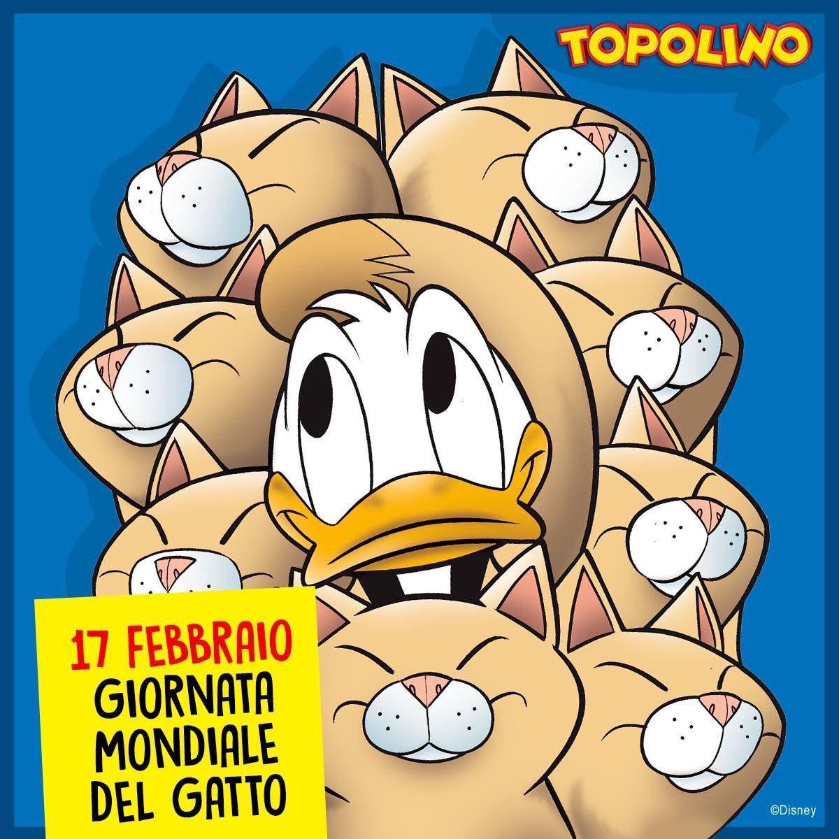 Pin Di Nyargo Su Disney Comics Made In Italy Topolino Gatti Rossi Twitter