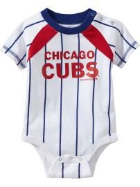 a870deb8a96 Chicago Cubs onsie (they sell these online mlb shop at Old Navy and JcPenny)