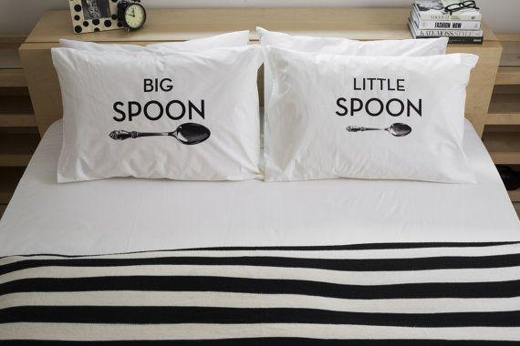 Big Spoon Little Spoon by PillowTalkzz on Etsy xoxo