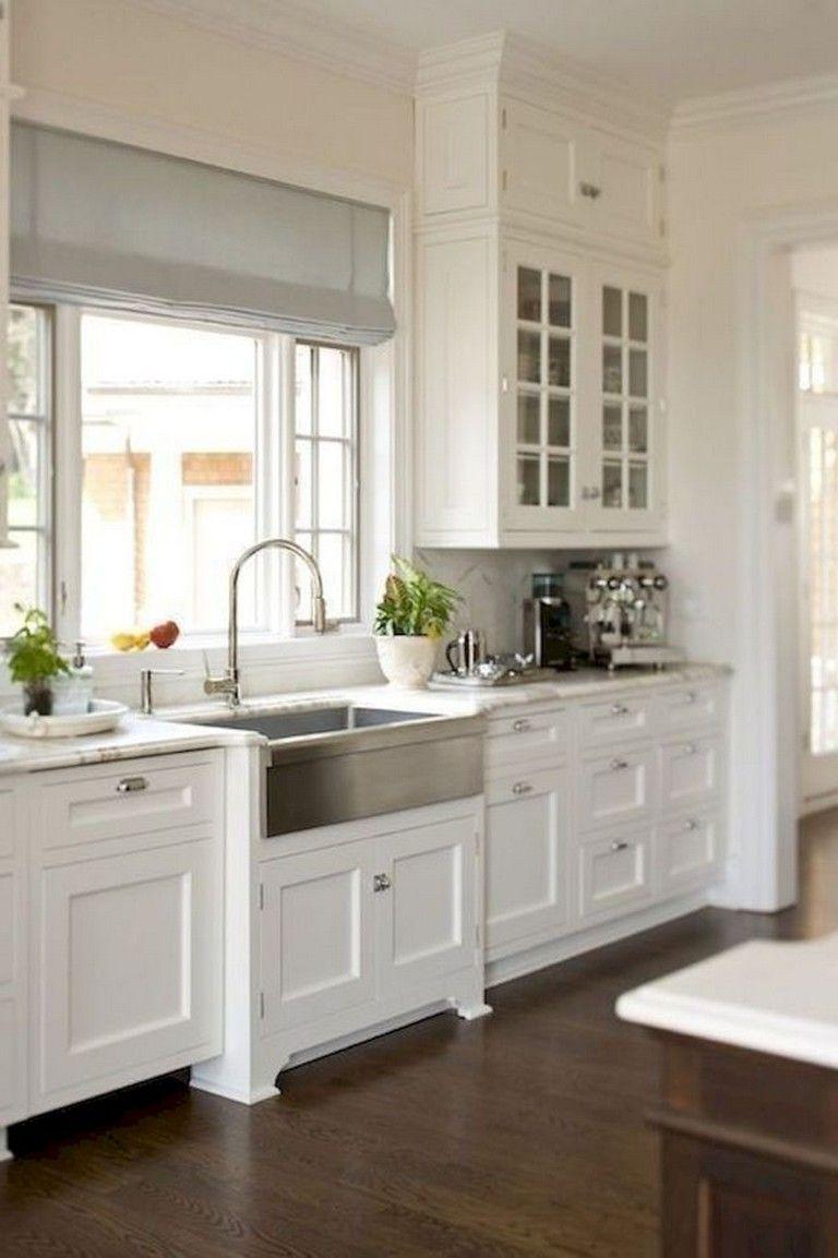 Kitchen Sink Remodel 75 Amazing Farmhouse Kitchen Cabinets Makeover Design Ide In 2020 Kitchen Cabinet Styles Farmhouse Style Kitchen Cabinets Farmhouse Style Kitchen