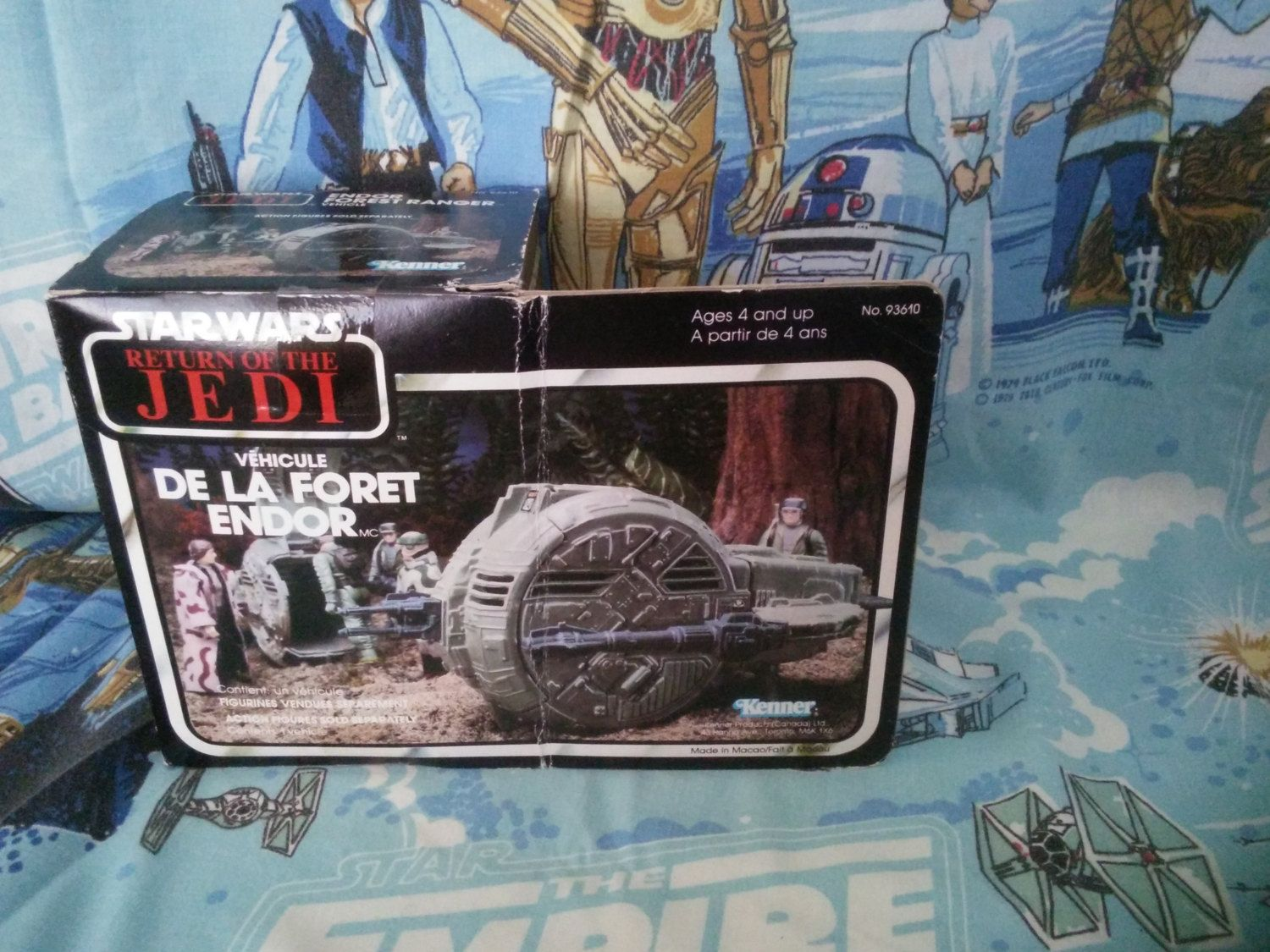 Star Wars De La Foret Endor Vintage Kenner NIB 1983 by AlwaysPlanBVintage on Etsy