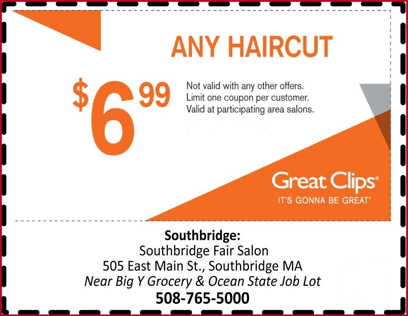7.99 Great Clips Online Printable Coupon March 2020