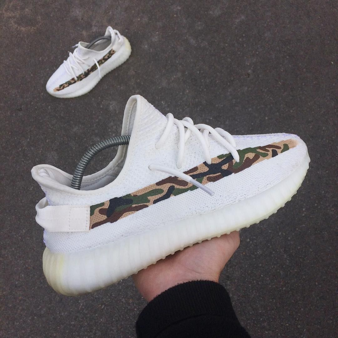 YEEZY 350 V2 Camo (custom) | YEEZY by Kanye West | Yeezy