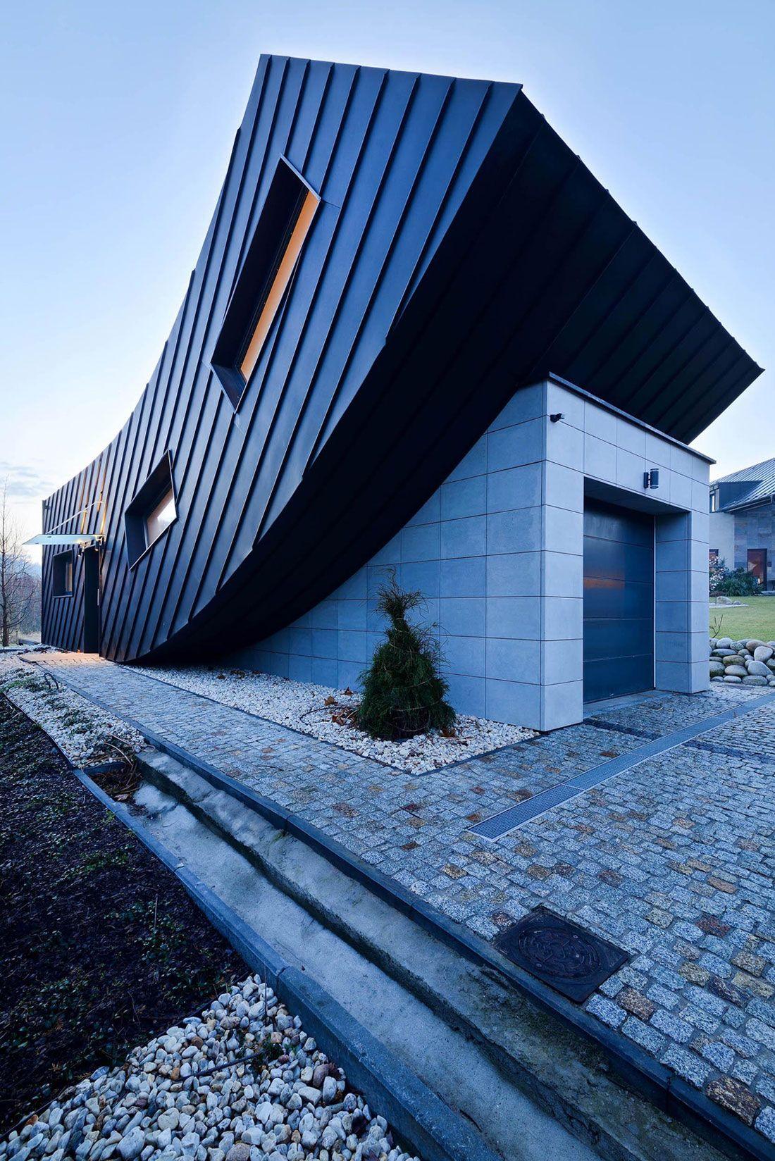 Domo Dom by ARCHITEKT.LEMANSKI | Contemporary Homes | Pinterest