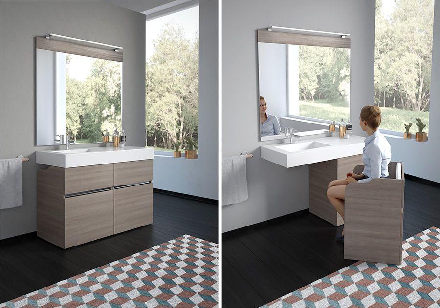 New Age di GoMan, mobile da bagno componibile e con poltrona ...