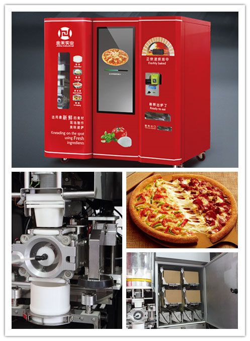 Jinhe Industrial is committed to the R&D and management of the smart fast-food terminal machines. After several years' R&D, with multinational experts' effort and millions of investment, the project of smart fast-food terminal machine has acquired more than 10 patents.