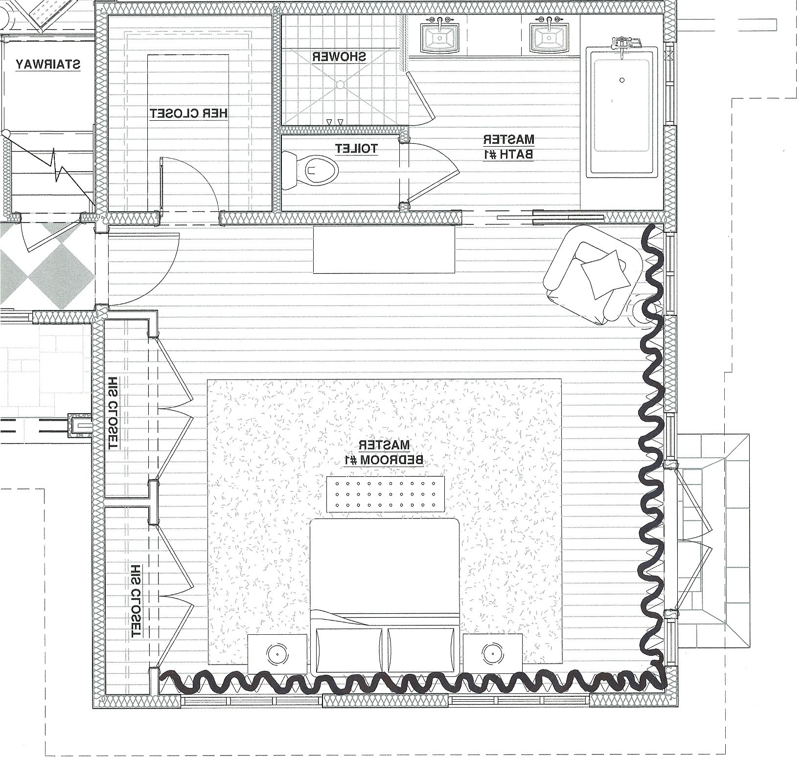 Beautiful Master Bedroom Blueprints In Home Decoration For