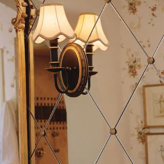 Style in Living: Mirror, Mirror on the Wall...Doors, Furniture & All!