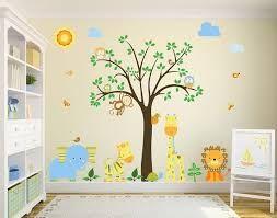 Resultado de imagen para habitaciones con vinilos de bebes varones ...
