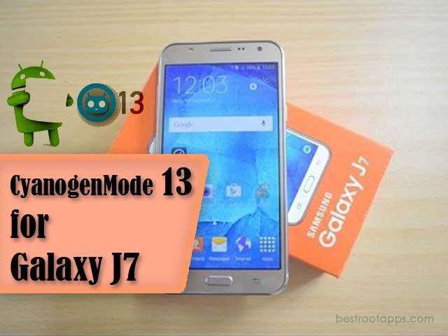 CynogenMode 13 Marshmallow 6 0 1 for Samsung J7 | J700F