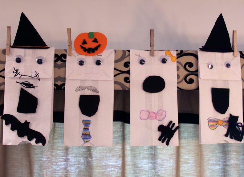 Halloween Paper Bags Google Search Halloween Pinterest Ghost