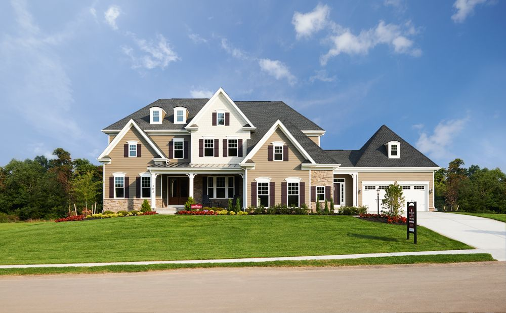 The Clifton Park Ii Luxury Home Design Pittsburgh House Design Luxury House Designs House Exterior