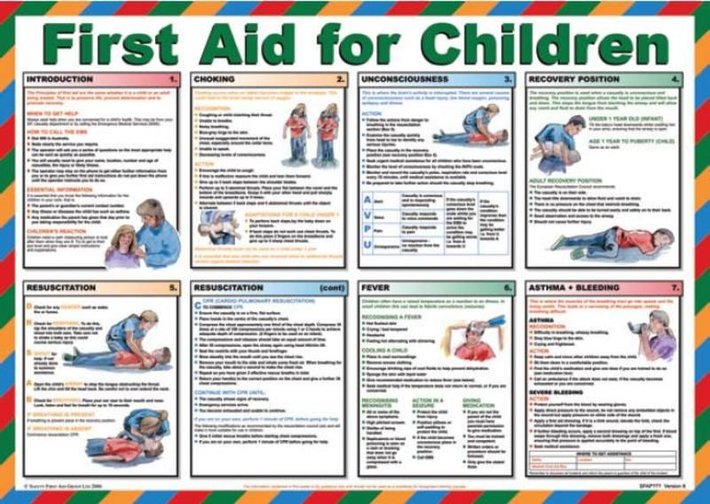 first aid poster 2014 Google Search First aid for