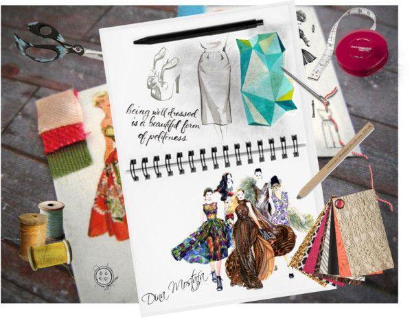 """""""designer desk"""" by dina595 on Polyvore"""