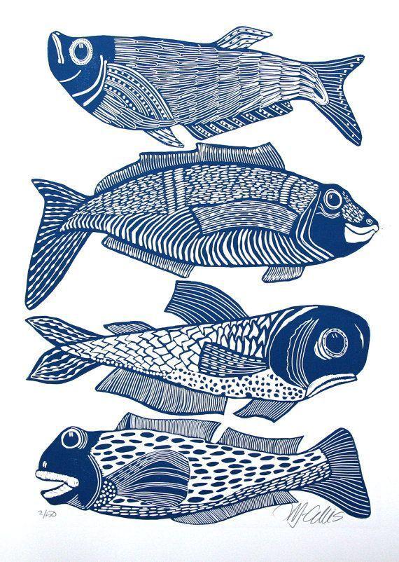 Photo of Makramee Fisch Wandbehang / anpassbare Makramee Tapisserie /…