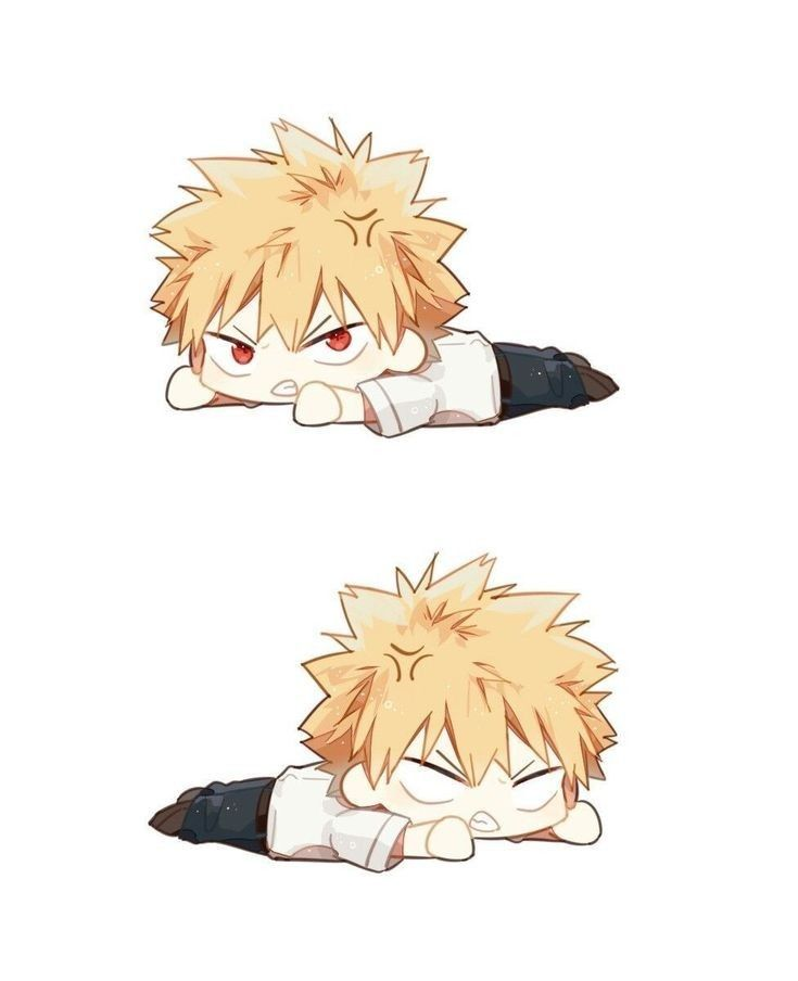 Pin By Lkmy0816 On Bakugou Katsuki My Hero Chibi Anime