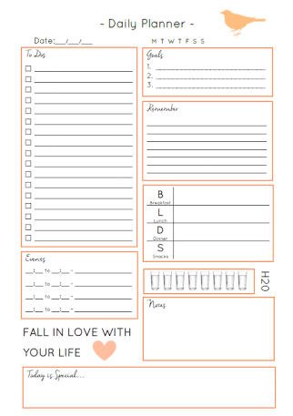 image result for daily planner free download quirky creative